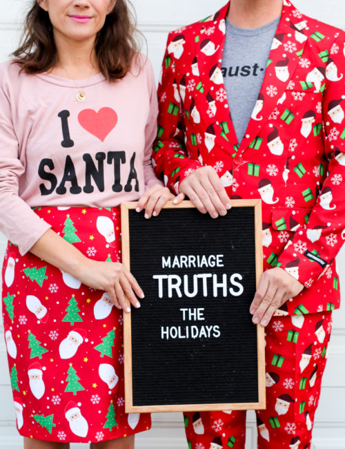 Marriage Truths: The Holidays